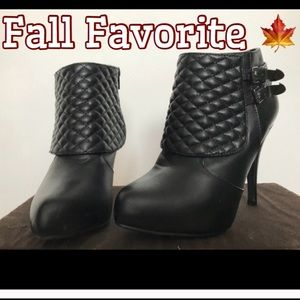 """Shoes - 🍁 Marbella Ankle Boots with 4"""" Heel"""